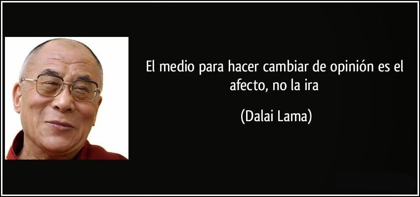 ¡Derechos Animales ya! Cita del Dalai Lama