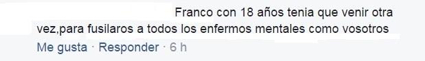 Franco debería fusilar a los veganos 1