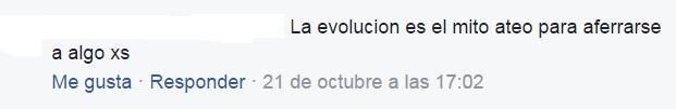 La evolución es el mito ateo para aferrarse a algo 1