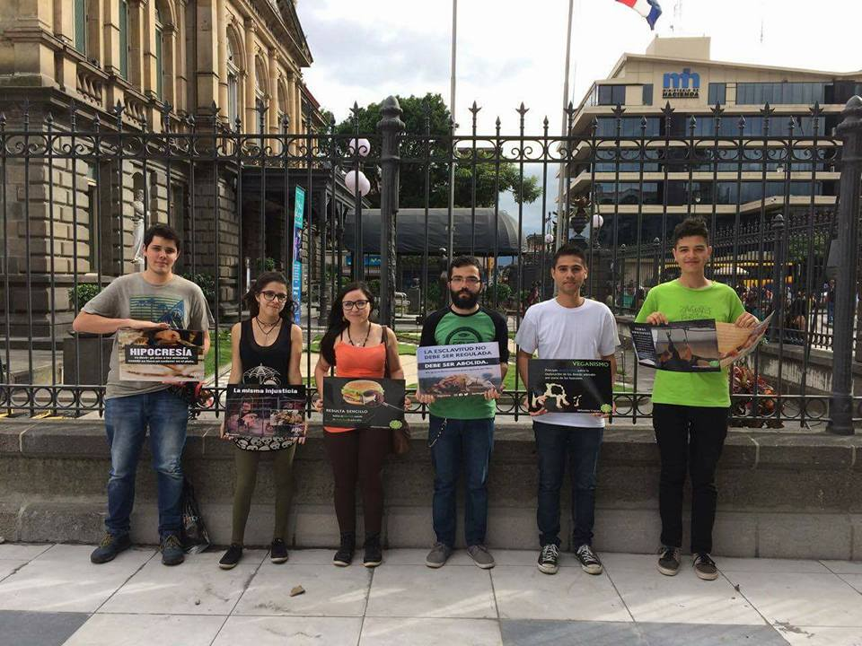 Activismo vegano en Costa Rica