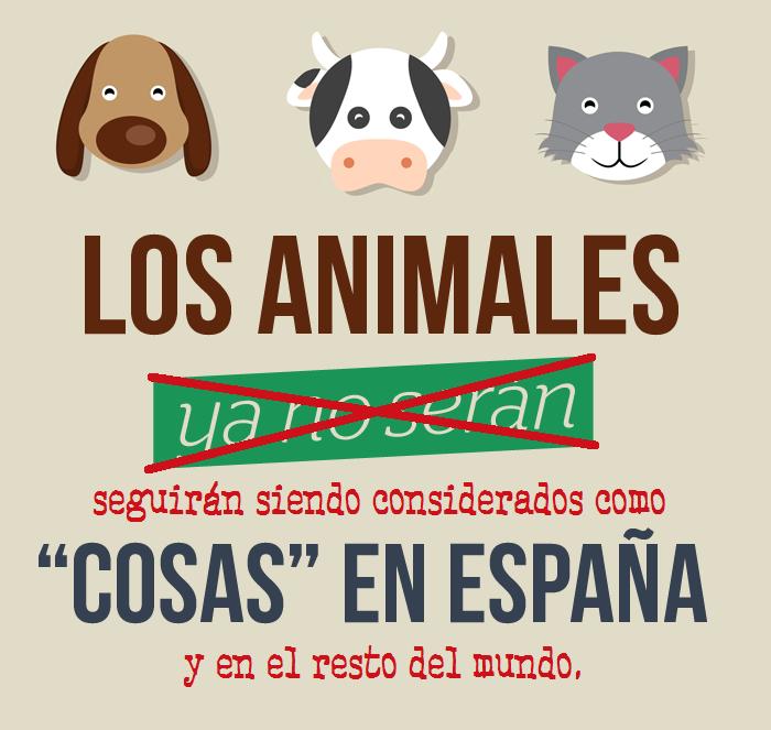 Los animales ya no serán cosas (propaganda bienestarista)