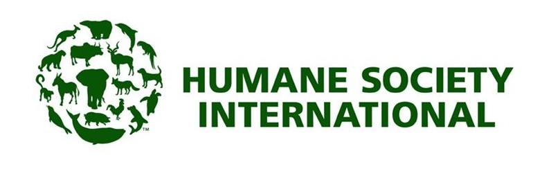 ¡Derechos Animales ya! Logo de la Humane Society International