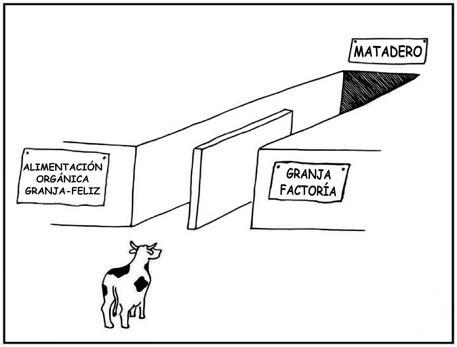 ¡Derechos Animales ya! - La mentira del bienestar animal - Las organizaciones animalistas promueven la carne ecológica